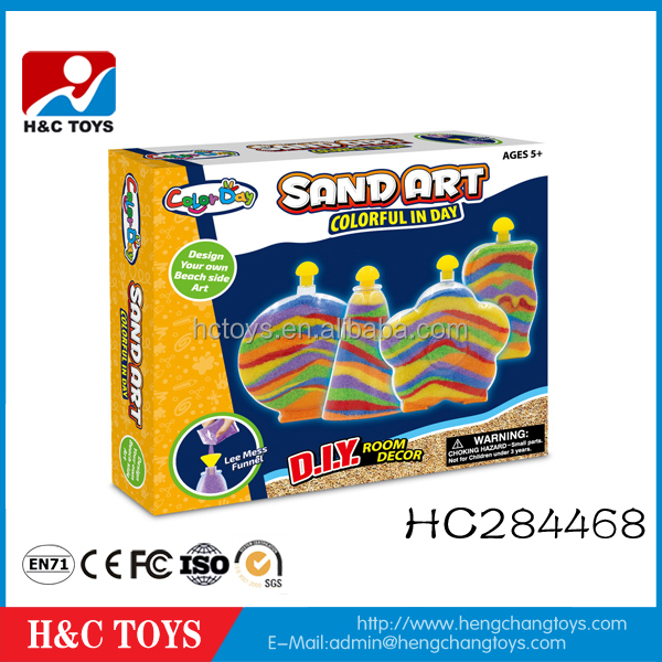 Educational drawing toy kids color sand painting art HC284468