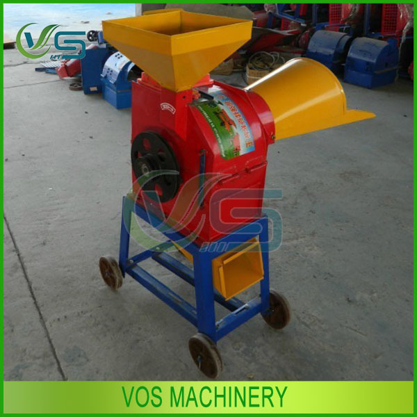 mini farm used forage grass chaff cutter/excellent quality forage grass chaff cutter machinery in feed processing machines