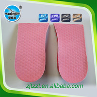 Air Cushion Shock Absorption Height Increasing Insole for high sole shoes