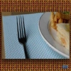 PVC+Polyester woven place mat/table place mat