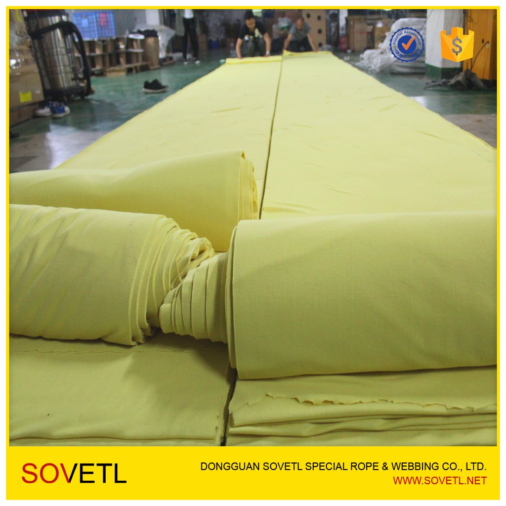 100% Kevlar Nomex Fiber Spun knitted Fabric For Jean as a liner