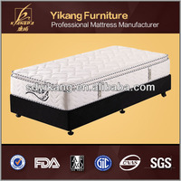 nice straw mattress/ memory foam spring mattress super single size