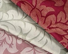 High quality emboss velboa fabric long pile velour fabric plush fabric