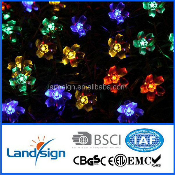 XLTD-116 Waterproof Christmas LED Solar String Light for Decorations, made in china unique energy saving christmas solar lights