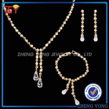 Women Design 18K Gold Jewelry Sets for Gift