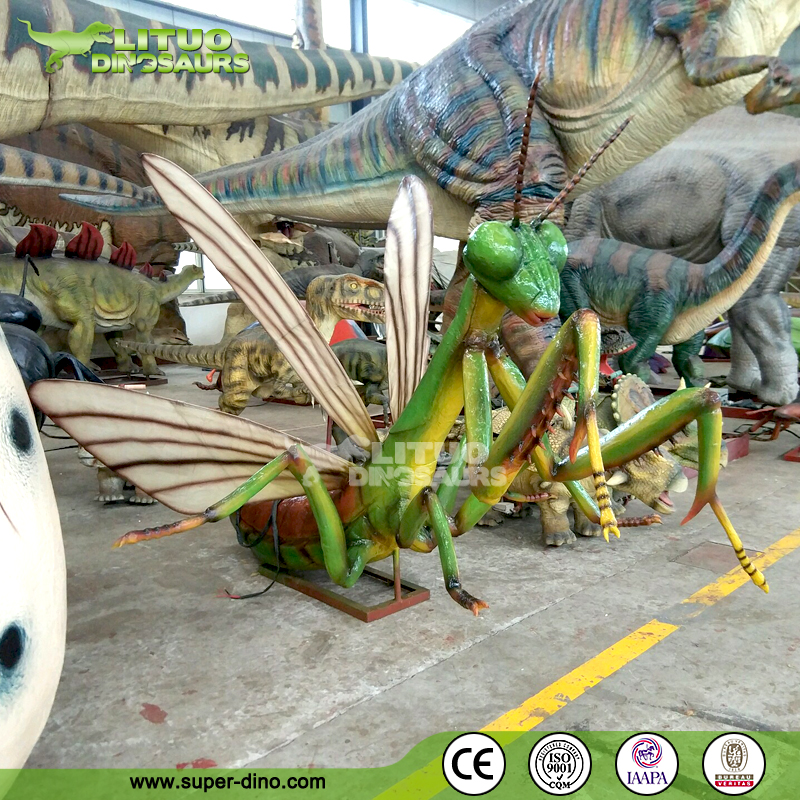 Theme Park Gagantic Animatronic Mantis Models