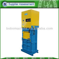 Hotel rubbish press baler