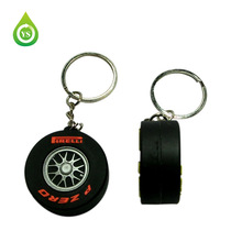 3D PVC giveaway acrylic key chain promotion keychain