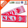 Promotional acrylic cheap knitted woven scarf