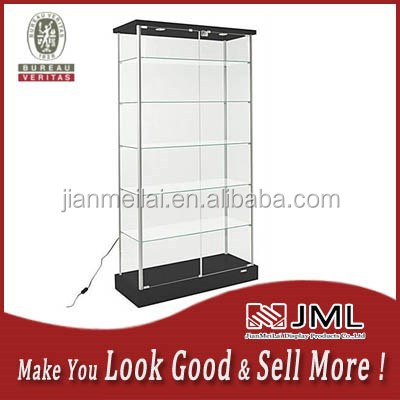 JML Glass store used display cabinets display showcase with Tempered Glass