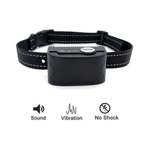 Humane Anti Barking Vibration No Shock Collar for Dogs and Puppies 100 Waterproof No Bark Collar