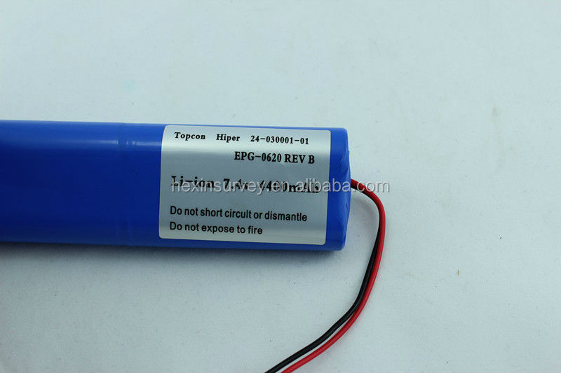 Topcon 24-030001-01 battery used for hiper gps
