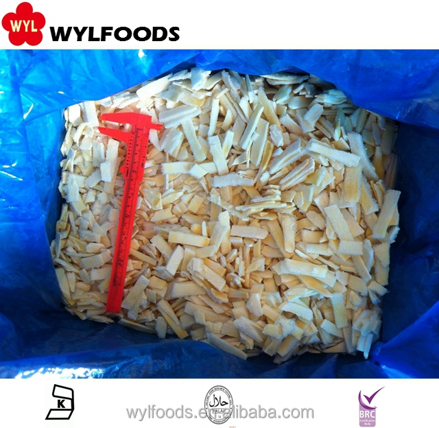 Wholesales bulk Fresh IQF Frozen Bamboo shoot slices