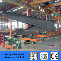 Tapered Flange Beam , Weld Tapered H-section Steel Column for Workshop Steel Structure Drawing