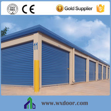Automatic warehouse industrial steel roll up doors