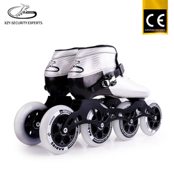 Good Quality Integrated CNC Silver Black Aluminum Support Inline Speed Roller Skate