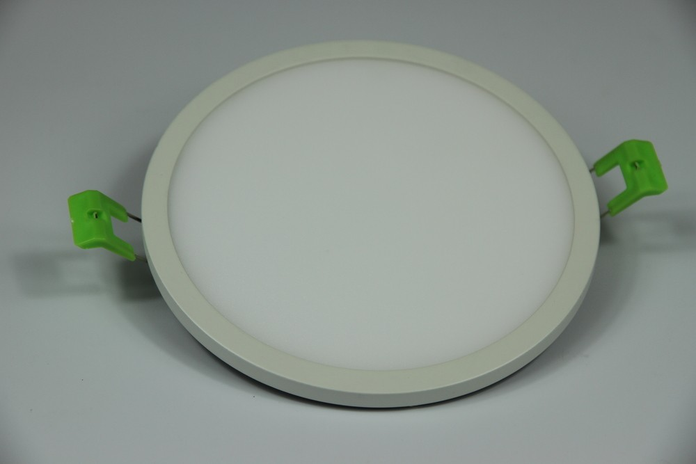 High efficiency SMD3014 8W round LED ceiling panel light 145*14mm