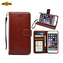 For iPhone 8/7 Leather Case,Wallet Folding Flip Case For iPhone 8