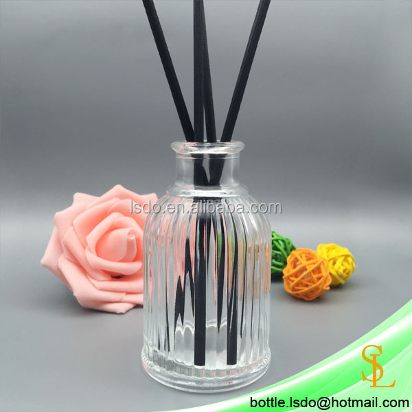 100ml Reed Diffuser Glass Bottle Aroma Essential Oil Diffuser Bottle Fragrance Scent Container for Cosmetic