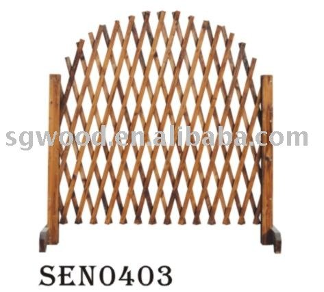 Decorative Wooden Floding lattice from China for wholesale