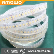 Yellow Led Flexible Strip IP66 SMD 3528 60Leds Waterproof Strip Light