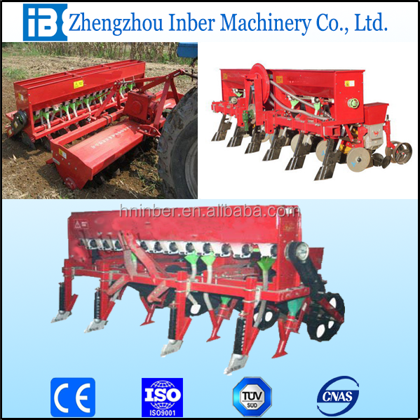 6 rows no-tillage maize seeder/corn ,soybean,cotton planter/seed drill