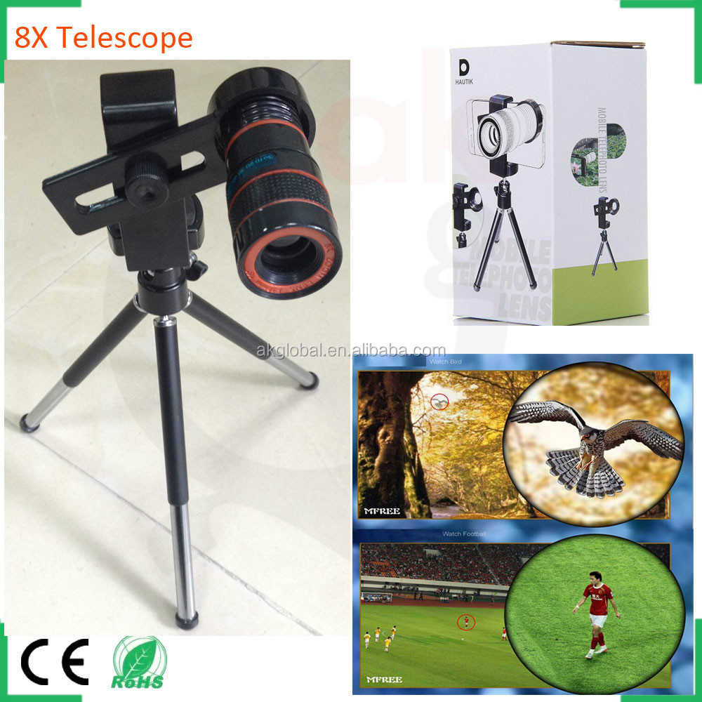 zoom telescope for mobile phone iphone camera lens optical telescope glasses
