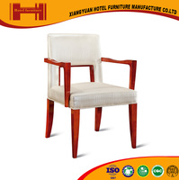 factory supplies ISO9001 CE antique style pleasant natural veneer white easy chair