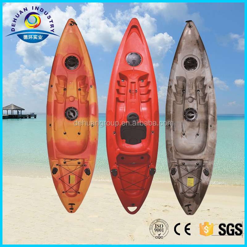 Cheap single fishing boat & kayak fishing with many color for your reference