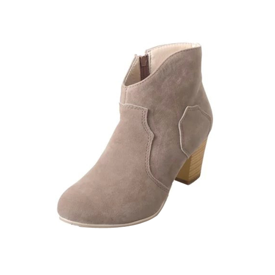 Wholesale sexy ladies suede ankle <strong>boots</strong> with different colors