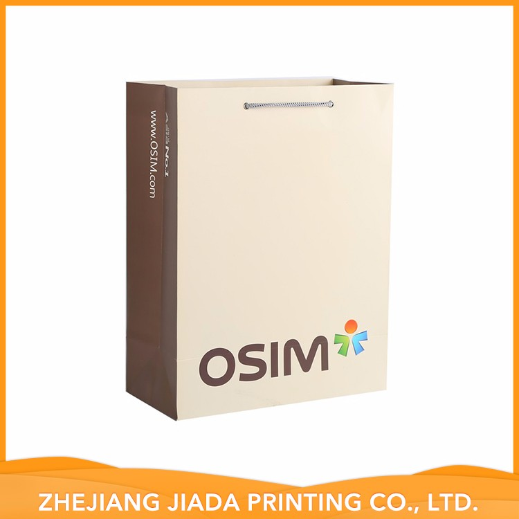 Accept Custom Newest Design Top Quality Customised Shopping Paper Bag