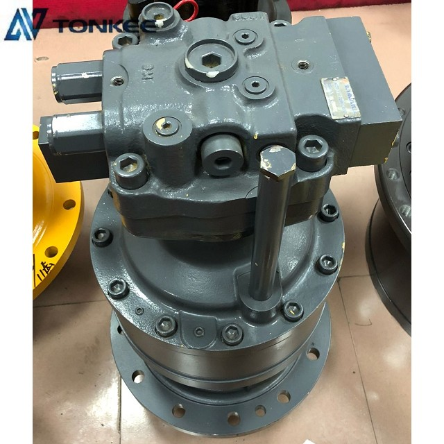 22SM1510317 R225-7 genuine swing motor with gearbox assy R225-7 professional rotation device