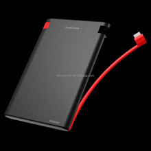 2.55A OUTPUT High Quality External Mobile Power Bank 6000mah/Portable Power Bank/Power Bank For Notebook