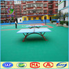 natural looking pp interlocking sports flooring for tennis court