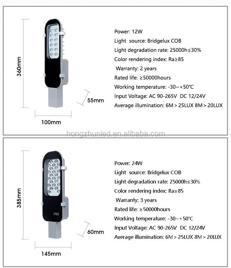 High quality 80W led street light price list 85-265v 3 years warranty parking lot lights led street lamp IP65 street light price