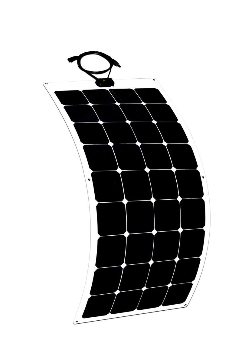 New designed flexible pv ceiling solar panels price 100w for RV