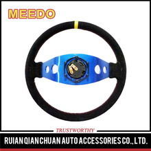A font two spoke Light-weight aluminum car steering wheels for sports car