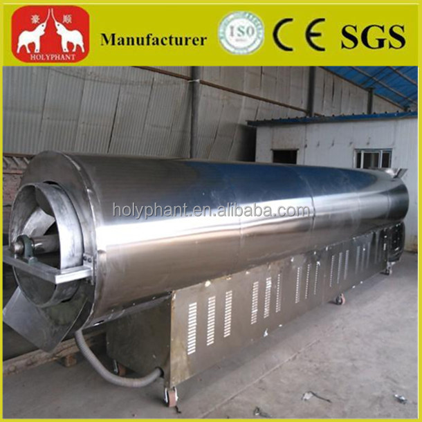 Fully stainless steel peanut roaster machine
