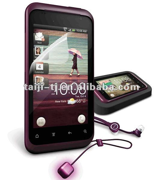 Free Sample&Best quality High Clear/Diamond screen protector for HTC Rhyme Cdma