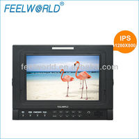 7 inch hd sdi lcd monitor composite component input with IPS panel 1280X800 hight resolution