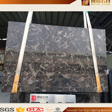 BOTON own quarry $13 stock natural dark brown chinese emperador marble