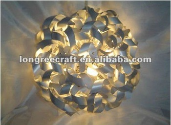 Unique Style Round Shaped Glass Lamp Rock Crystal Chandelier Pendants