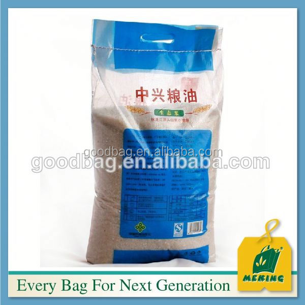 Laminierte Gewebe Reis Paket Sack, 25KG ,MJ-LW0610-Y, Made in China