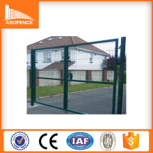 Plastic Garden Fence Gate, cheap farm fence, 3 Folds Wire Mesh Fence