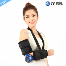 orthopedic elbow support hinged arm brace elbow brace with FDA certificate