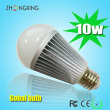 High Lum 10w led bulb E27