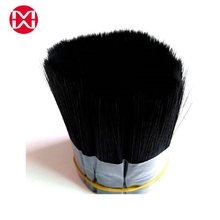 Factory Price Black PET PBT Hollow Taper Filament for Paint Brush