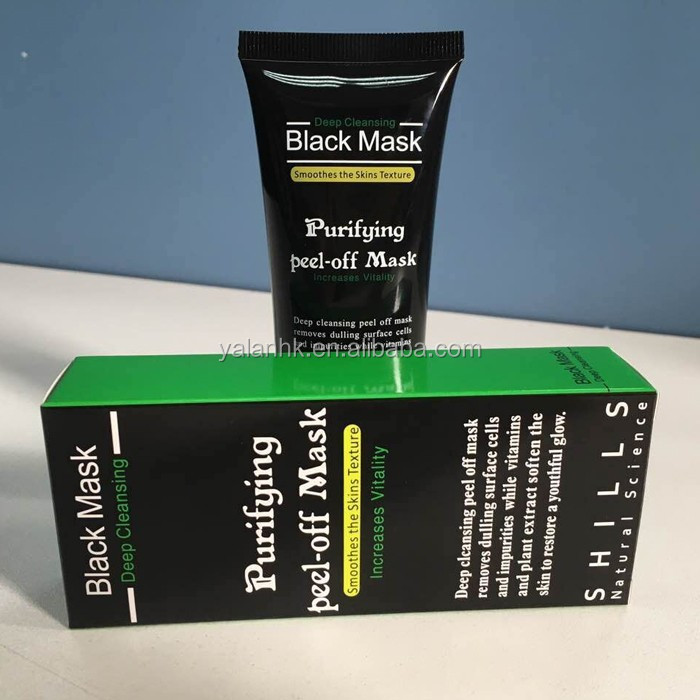 Deep Cleansing Purifying Peel Off Black Head Mask Activated Carbon Blackhead Removal Mask