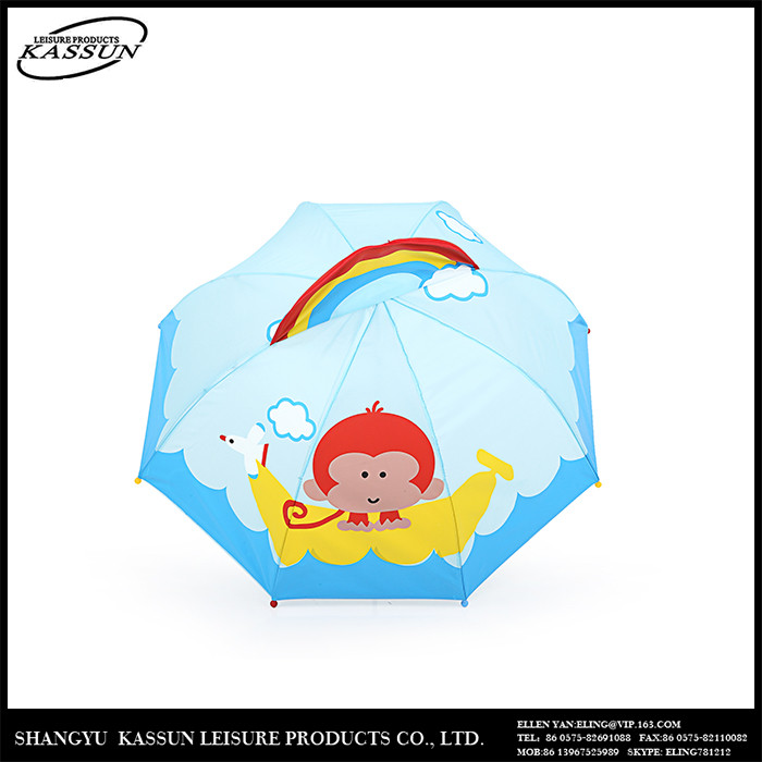 Profession made w idely use logo printed umbrella decoration for kids
