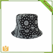 lady fashion print all over pattern bucket hat supplier